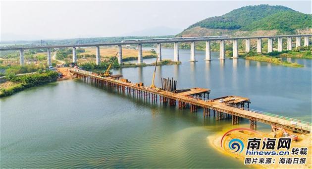 """这两条高速路建成后 海南本岛将实现""""县县通高速"""""""