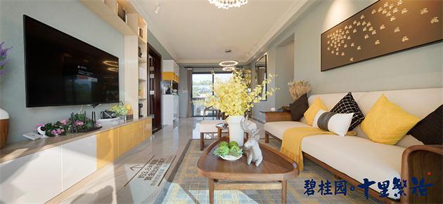 碧桂园十里繁花板式三房在售 总价约70万起,碧桂园十里繁花