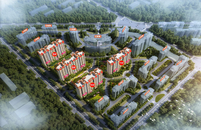 建业花园里板式美宅在售 预计2023年10月交房,建业花园里